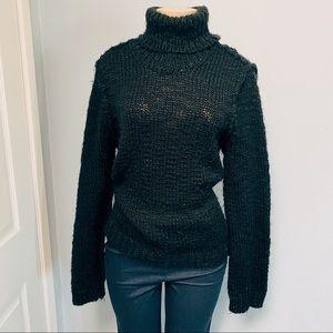 Isaac Mizrahi chunky knit sweater